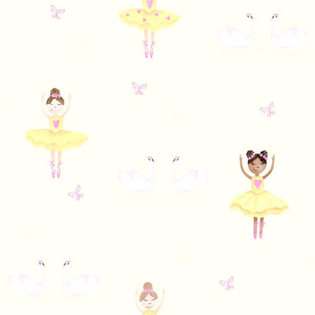 Dutch Wallcoverings Make Believe Ballerina 12462