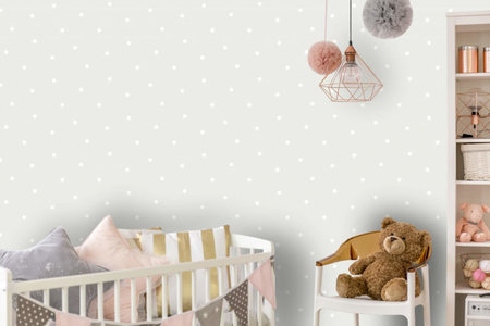 Dutch Wallcoverings Make Believe Dotty 12600