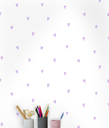 Dutch Wallcoverings Make Believe Love Hearts 12580