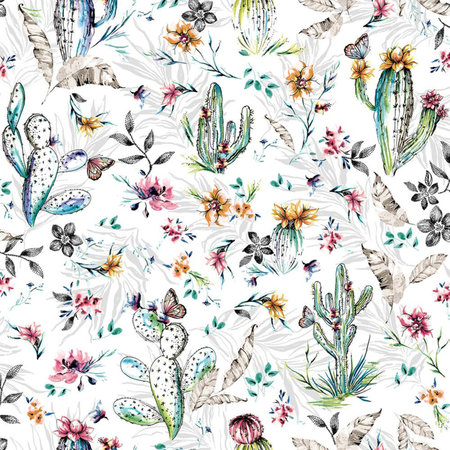 Dutch Wallcoverings Imaginarium cactus 12180