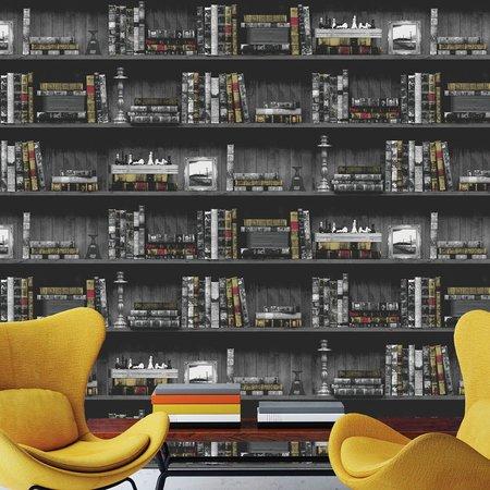 Dutch Wallcoverings Imaginarium boekenkast 11951