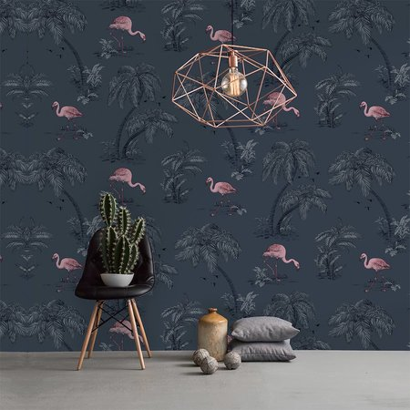 Dutch Wallcoverings Imaginarium flamingo 12382