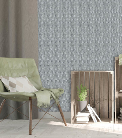 Dutch Wallcoverings Hexagone L606-09