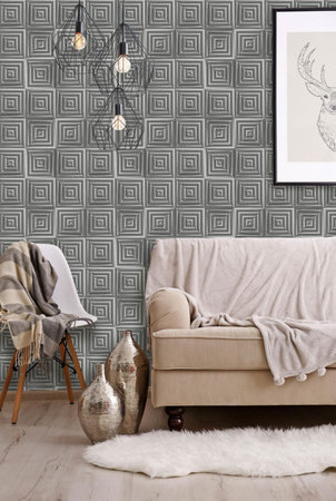 Dutch Wallcoverings Hexagone L446-09