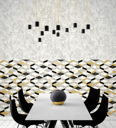 Dutch Wallcoverings Hexagone L638-02