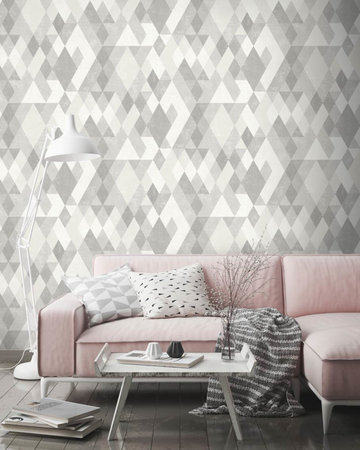 Dutch Wallcoverings Hexagone L598-09