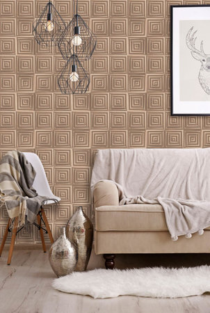 Dutch Wallcoverings Hexagone L446-05