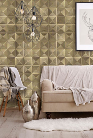 Dutch Wallcoverings Hexagone L446-02