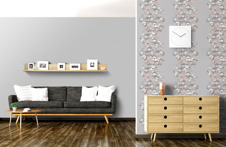 Dutch Wallcoverings Hexagone L424-09