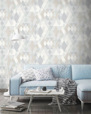 Dutch Wallcoverings Hexagone 579807