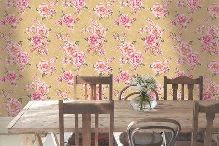 Dutch Wallcoverings Enchanted Garden (Gratis Lijm Toegevoegd) 98943
