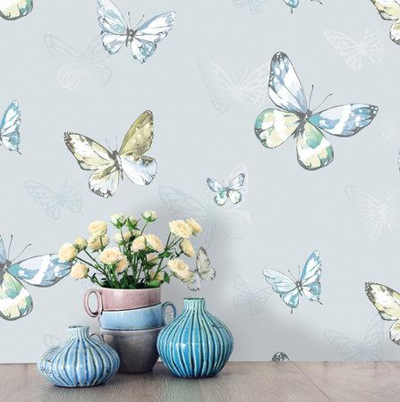 Dutch Wallcoverings Enchanted Garden (Gratis Lijm Toegevoegd) 98951
