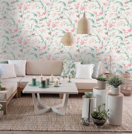 Dutch Wallcoverings Enchanted Garden (Gratis Lijm Toegevoegd) 98920