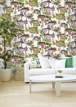 Dutch Wallcoverings Enchanted Garden (Gratis Lijm Toegevoegd) 98900