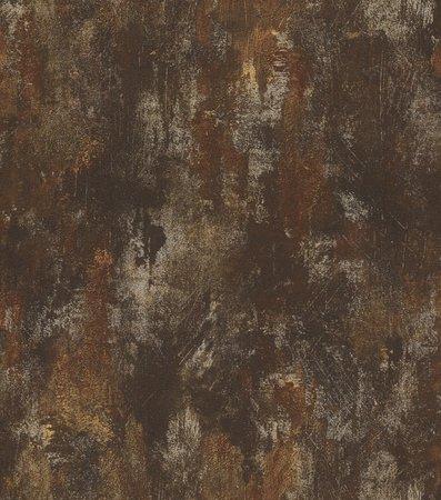 418224 rasch beton deco style donker koper roest