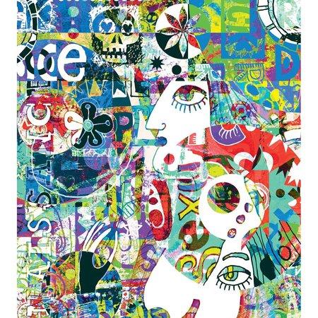 Caselio Street Art SRE68294456 met Gratis Lijm