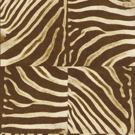 Rasch African Queen bruin zebra behang 423310