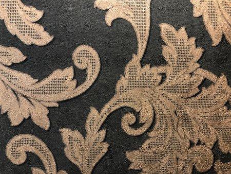 Grandeco Vinyl behang met glitter A14301