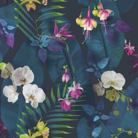 Arthouse Tropics  Pandorama Navy 690101
