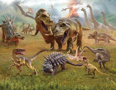 Walltastic Dinosaurussen XXL 46504