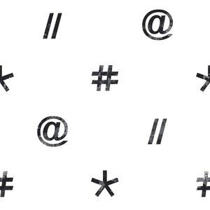 Noordwand Hashtag 11036
