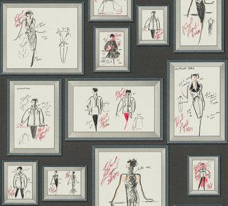AS Creation Karl Lagerfeld Sketch 37846-1 / 378461