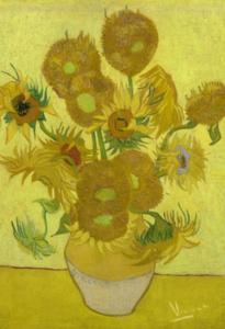 BN Wallcoverings Van Gogh 30542 Zonnebloemen (Met Gratis Perfax Lijm!) 30542