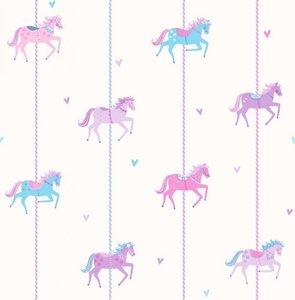 Dutch Carousel behang DL21120 Horses