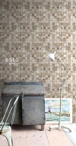 Esta Home Vintage Rules! WallpaperXXL Blokjes 158201