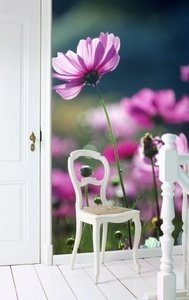 Esta Home Ginger behang PhotowallXL purple beauty 158005