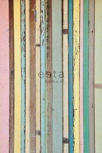 Esta Home Denim & Co. PhotowallXL painted wood 157703