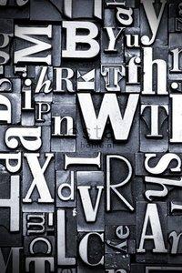 Esta Home Denim & Co. PhotowallXL letterpress 157708