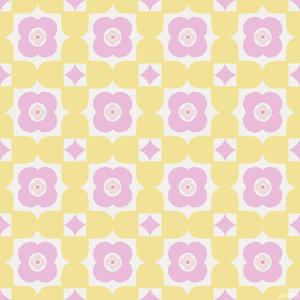 Cozz Smile behang 61170-02 Retro Floral