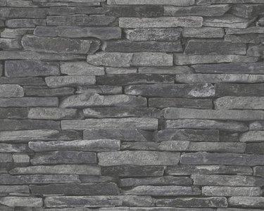 AS Creation Wood‹n Stone 9142-24 Steenstructuur behang