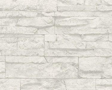 AS Creation Wood‹n Stone 7071-61 Steenstructuur behang