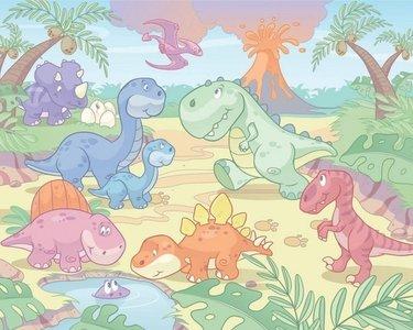 Walltastic 3D Baby Dino