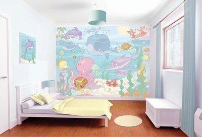 Walltastic 3D Baby Onderwater