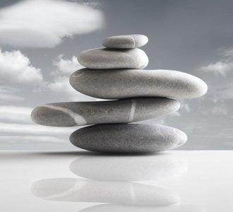 Dutch DigiWalls Fotobehang 70030 Balancerende stenen