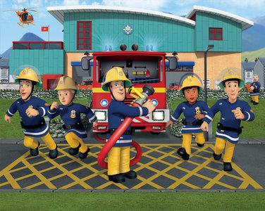 Walltastic posterbehang 43770 brandweerman Sam