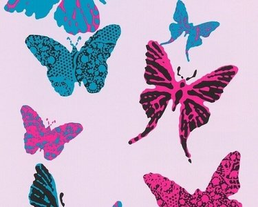 AS Creation Boys and Girls 93634-2 Vlinders behang