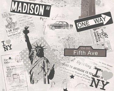 AS Creation Boys and Girls 93625-1 New York behang