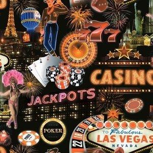 Dutch Jet Setter behang J079-10 Las Vegas