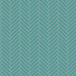 Rasch Tiles&More 888218 visgraat met glitter