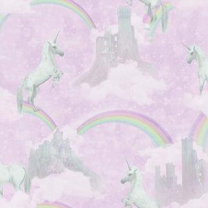 Dutch Wallcoverings Make Believe Unicorns 12480