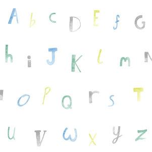 Dutch Wallcoverings Make Believe Alphabet 12561