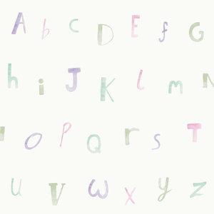 Dutch Wallcoverings Make Believe Alphabet 12562