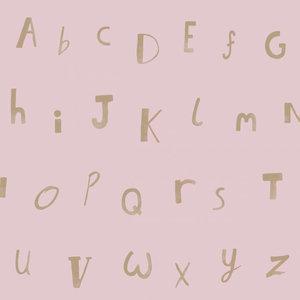 Dutch Wallcoverings Make Believe Alphabet 12563