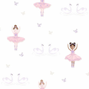 Dutch Wallcoverings Make Believe Ballerina 12461