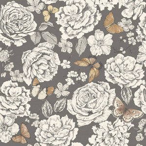 Dutch Wallcoverings Enchanted Garden (Gratis Lijm Toegevoegd) 98911