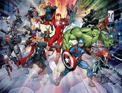 Walltastic Wall Mural Avengers XXL 45965